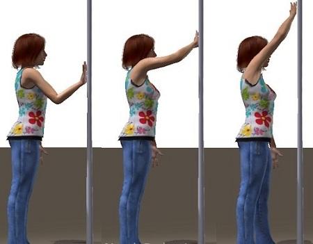 بالا بردن بازو