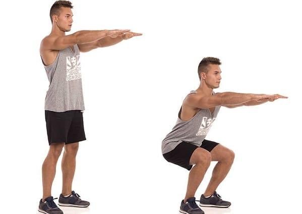 تمرین لانگهای ایستاده از ورزش های ویلیامز